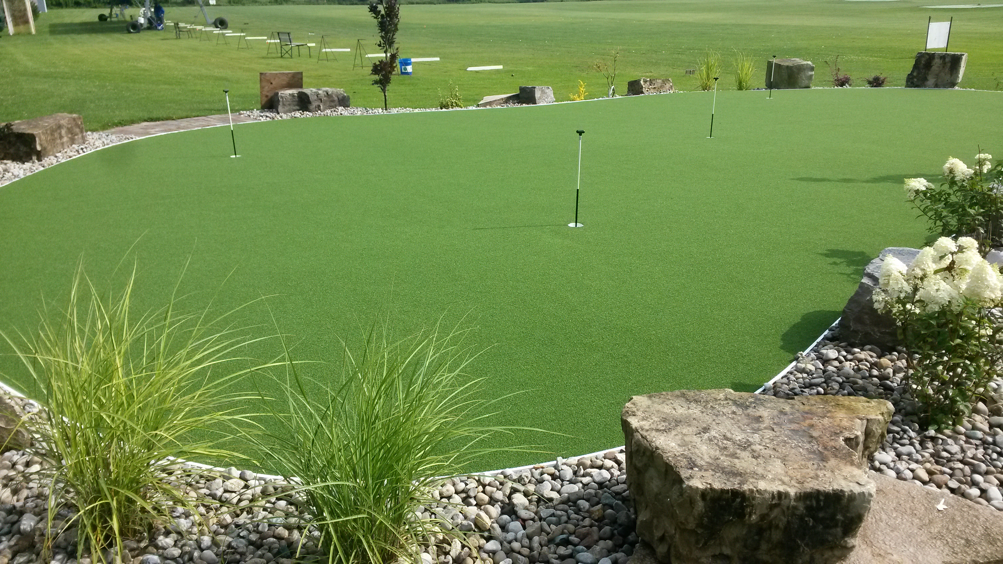 golf and putting greens greenland turf